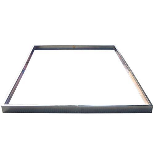 Zelsius - Stahl Fundament Rahmen, passend zum Aluminium Gewächshaus ASIN: B001TJ3TL8 und B00KHSY5Q0