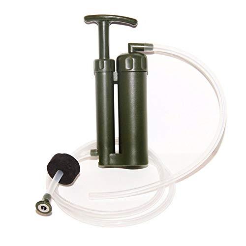 CHARON Wasserfilter Strohhalm, 3-stufige Filtration, 0,01 Mikron, Personal Mini Reiniger Survival Equipment, geeignet für Wandern, Camping, Reisen, Notfall