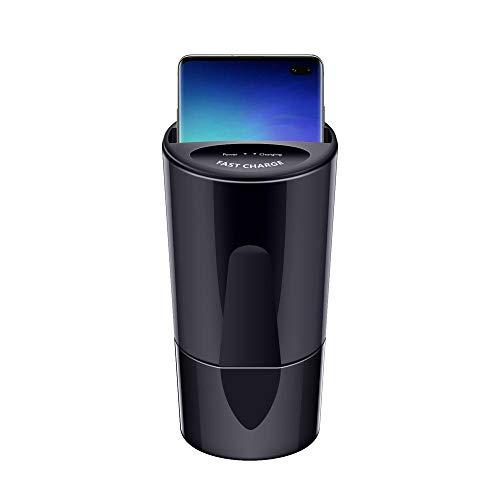 Karruier Wireless Autoladegerät Für SAMSUNG Galaxy S10 / S10 + / S10e, 10W X9 Car Wireless Charger Cup mit USB-Ausgang kompatibler iPhoneXS MAX/XR/X / 8 und SAMSUNG Galaxy-Serie