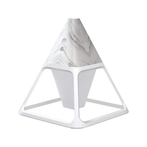 Luz de noche triangular con interfaz USB de control remoto Función de humidificador de aire Luz de noche para dormitorio, pasillo, cocina y regalos