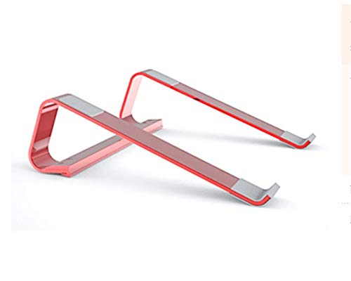 "Laptop Stand Ergonomic Aluminum Detachable Laptop Riser Compatible With 10-17"",bedroom, Study, Living Room(Color:red)"
