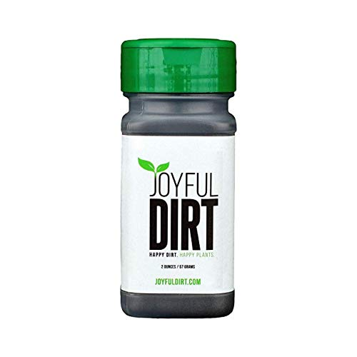 Joyful Dirt Premium Concentrated All Purpose Organic Plant Food and Fertilizer. Easy Use Shaker (2 oz)