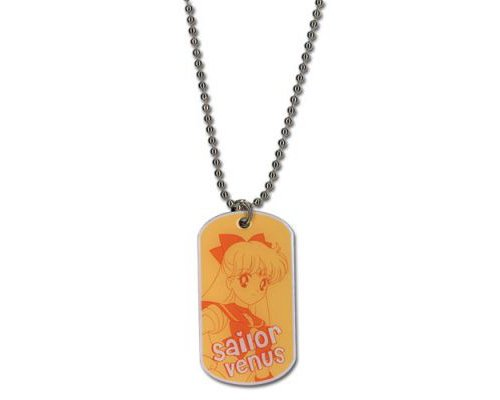 Sailormoon Sailor Venus Dog Tag collier