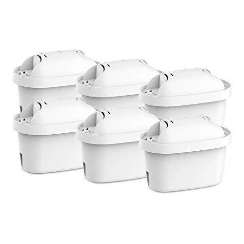 Clarifilter CLF-07 Wasserfilter kartuschen kompatibel mit Brita Maxtra, Maxtra+ Krug Kannen Filterkartusche; Mavea, Marella, Elemaris; Dafi Unimax; Aquaphor Maxfor; PearlCo Unimax; Bosch Tassimo (6)