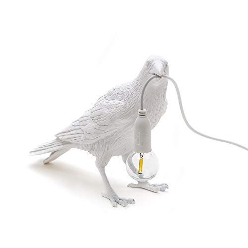Lámpara de mesa LED pájaro lámpara de mesa dormitorio decorativo hogar Iluminación moderna animal pájaro lámpara de escritorio