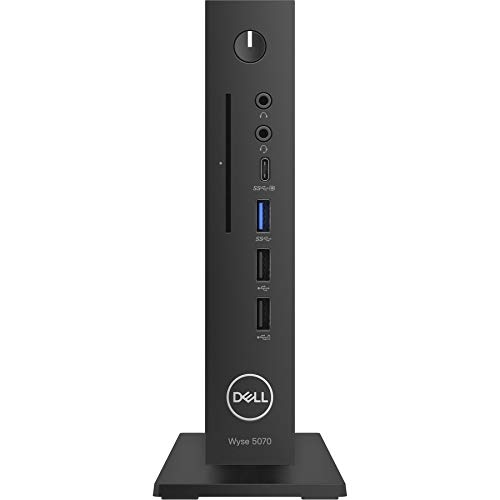 Dell UK BTS Wyse 5070 TC Celeron J4105 4GB 16GB eMMC TPM Verti Stand No Wifi No Kb Mouse ThinOS 3Y Coll&Rtn