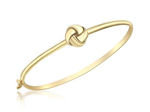 Carissima Gold Armreif 9 Karat Gelbgold 4facher Knoten flexibles Design