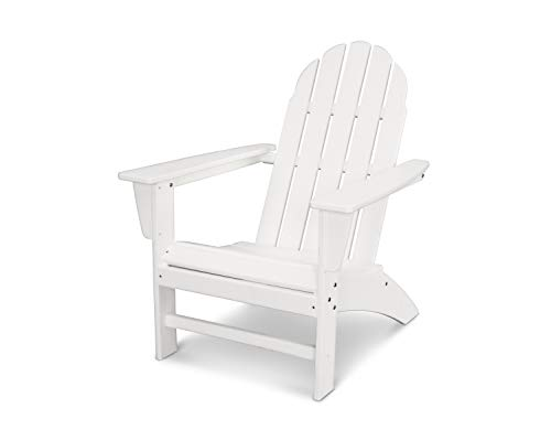 POLYWOOD Vineyard Adirondack Chair (White)