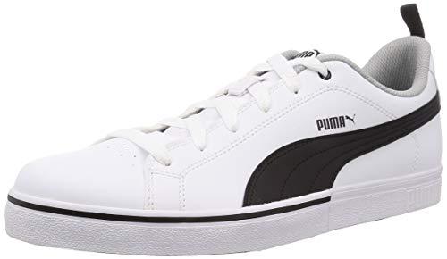 Puma Break Point Vulc, Zapatillas de Deporte para Niños, White