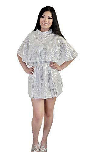 Beauty School Drop Out Silver Dress Costume