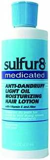 Sulfur 8 Medicated Anti-dandruff Light Oil Moisturizing Hair Lotion