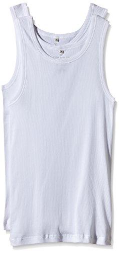 TOM TAILOR Underwear Herren Tanktop 2er Pack Unterhemd, weiß-1000, XX-Large (Herstellergröße: XXL/8)