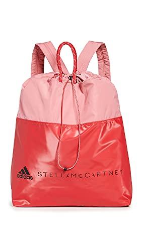 adidas by Stella McCartney Women's Asmc Gymsack, Hazros/Pink/Black, One Size