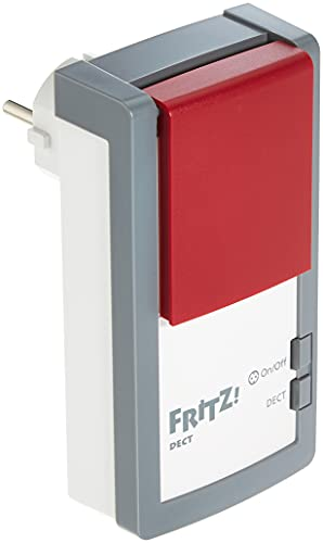 AVM 20002723 FRITZ!DECT 210 Smart Eluttag, 9.3 x 8.3 x 12.7 cm, Vit