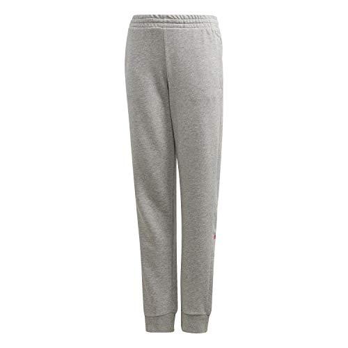 adidas YG E Lin Pant Pantalón, Niñas, brgrin/Rossen, 110 (4/5 años)