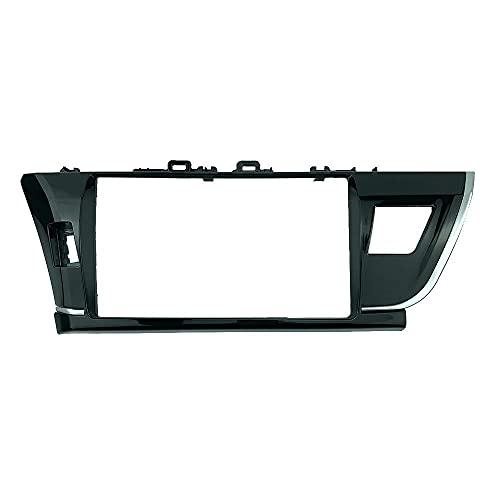 Panel de salpicadero de Radio de Coche 10,1 Pulgadas Apto para Toyota Corolla 2014-2016 timón Izquierdo estéreo Dash CD Kit de instalación de molduras Facia