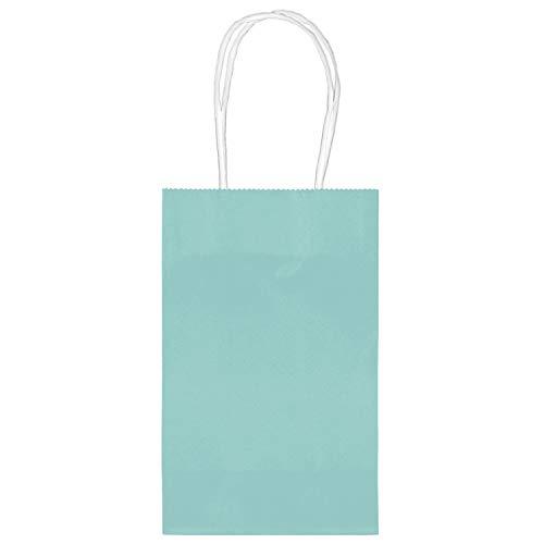 amscan Robin Egg blau Geschenk Papier-Staubsaugerbeutel