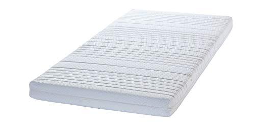 GMD Wolkenkind® 7-Zonen Easy Vital Comfort-Matratze 140/200/12 cm, Kaltschaummatratze versteppt, Made in Germany, RICHFOAM®