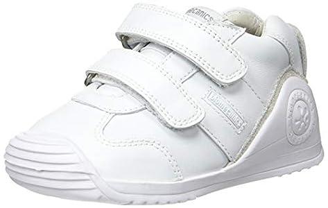 Biomecanics 151157-2, Zapatillas de Estar por casa Unisex niños, Blanco (Blanco (Sauvage) Colores), 21 EU