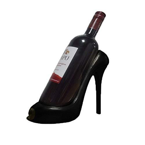 Botella de vino bastidor Estante del vino - zapatos de tacón alto de las mujeres del diseño de moda estante del vino de la decoración del hogar interior Crafts regalo de la decoración Exquisita decora