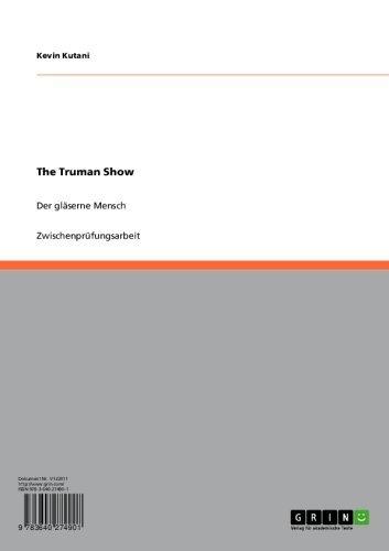 The Truman Show: Der gläserne Mensch (German Edition)