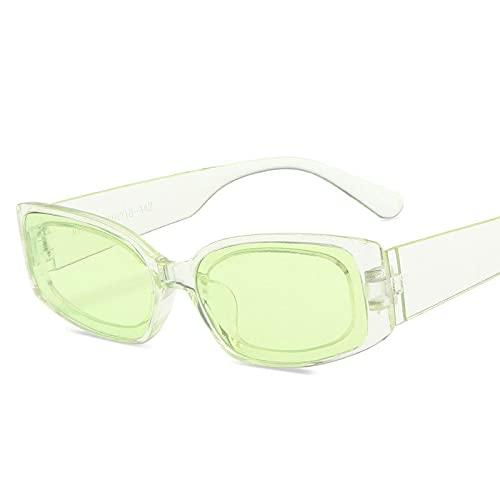 AMFG Moda Color Color Gafas de sol Personalidad Pequeño Marco Square Sunglass Hop Hop Gafas de sol de moda (Color : I)