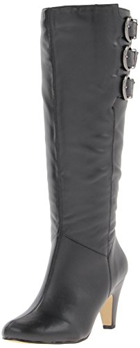 Hot Sale Bella Vita Women's Transit II Plus Knee-High Shafted Boot,Black,8.5 W US