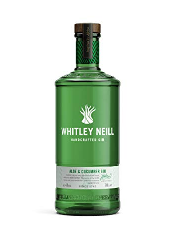 Whitley Neill ALOE AND CUCUMBER GIN (1 x 0.7 l)