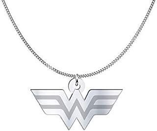 Collana Wonder Woman, Sterling Silver o placcato oro 18K, gioiello regalo amicizia, migliori amici