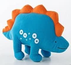 Dinosaur Bedding -Dino Roar- Throw Pillow