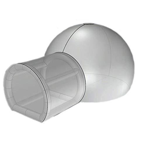 Casa Inflable De La Tienda De La Burbuja con Ventilador Y Bomba...