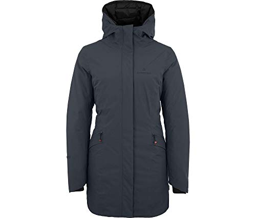 Bergson Damen Funktions- Wintermantel JUSI, Ebony [949], 38 - Damen
