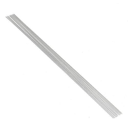 %20 OFF! CoCocina 10Pcs 2.4Mm50Cm Metal Aluminium Low Temperature Welding Brazing Rod for Repair Too...