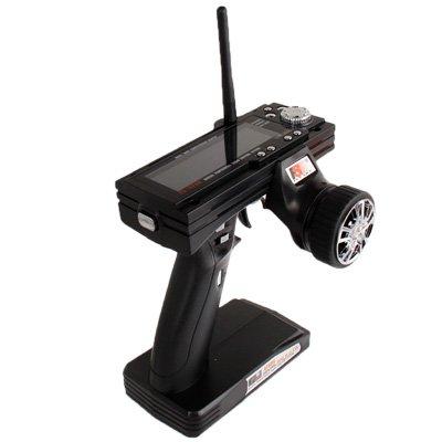 WOHAO Spielekonsolen Zubehör Flysky FS - GT3B 2,4-GHz-3-CH 3,5-Zoll-LCD-Gun Sender + Empfänger for RC Auto/Boot.