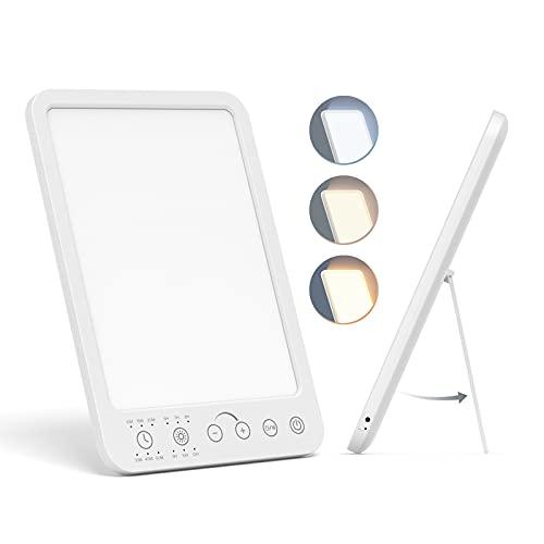 SAD Lamp, UV-Free Light Therapy Lamp, 12000 Lux Sad Light Lamp LED Light...