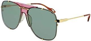 Sunglasses Gucci GG 0739 SA- 004 Gold/Green