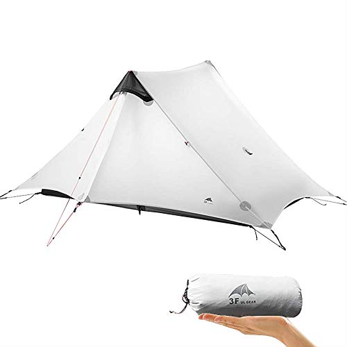 KIKILIVE ultraleichtes Campingzelt Neues LanShan für den Außenbereich,1Person / 2 Personen/ 3 Personen Zeltunterstand perfekt für Camping,Rucksacktourismus und Wanderungen