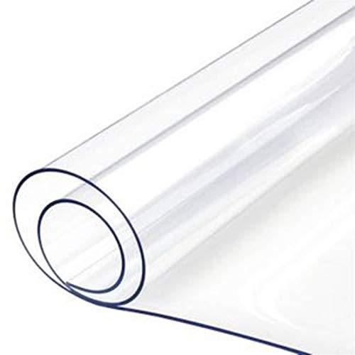 Doorzichtige Zeildoekoogjes Plastic Zeildoekblad Regendicht Doek Venster Balkondoek Plantendeksel PVC Plastic Zachte Film Tuinmeubelset Met 20m Touw(Size:2x4m)