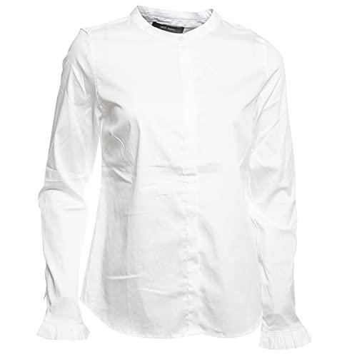 Mos Mosh Damen Bluse Mattie Sustainable Shirt Weiss - XXL