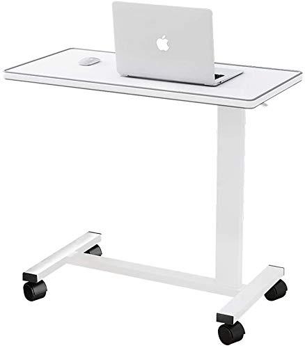 Levantando escritorio del hogar del ordenador portátil extraíble cama del escritorio Altura Estudio de mesa de lectura bandeja del desayuno ajustable con ruedas, conveniente for el dormitorio sofá de