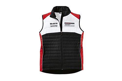 NEU+ORIG. Porsche Motorsport Weste/vest Größe XS 44/46, Schwarz/Weiß/Rot