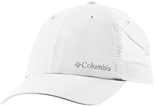Columbia Tech Shade Hat Gorra, Unisex Adulto, Blanco (White), One Size (Adjustable)