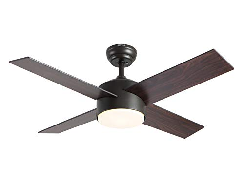 Ceiling Fan with Lights and Remote Control,SNJ Modern...