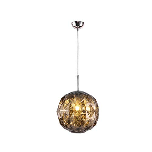 N/Z Living Equipment Lámpara Decorativa de araña pequeña con Efecto de Diamante esférico para Restaurante Tienda de Ropa D30CM (Color: Azul)