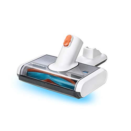 Genius Invictus X7/X5 UV-Licht-Bürste (2 Teile) | Entfernt Milben, Allergene, Hausstaub & Co. von Kissen, Betten, Polstern und Tierkörben mit UV-C-Licht – ohne Chemie