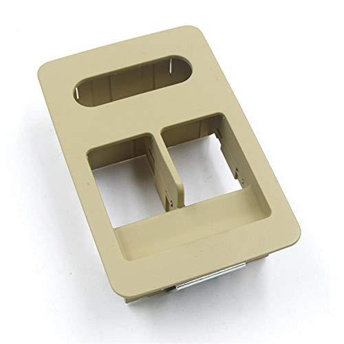 XIAOFANG Fit for Seat Cordoba Ibiza VW Volkswagen Lupo Polo Fensterheber-Schalter Einzel Console Button Panel Abdeckung 6X0 959 855B / 6X0959855B (Color : Yellow)