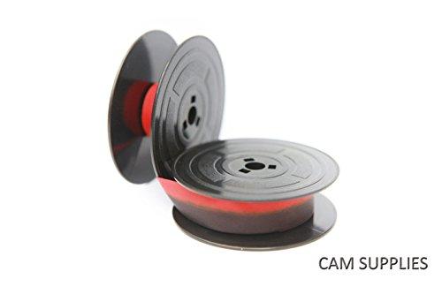 Olivetti Lettera 2122242532353637DL Top Qualität 10Meter Schreibmaschine, doppelspulle schwarz/rot