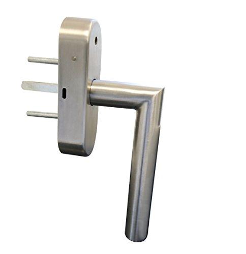 Schellenberg 46515 Sicherheits-Alarmgriff mit Klimafunktion – 37 mm Stift länge, Fenstergriff, Balkontürgriff, Terassentürgriff