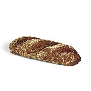 KetoUp: 4 frische Low Carb Röstzwiebelbaguettes | Ketogene und Low Carb Ernährung | maximal 3% Kohlenhydrate - 4 x 320g