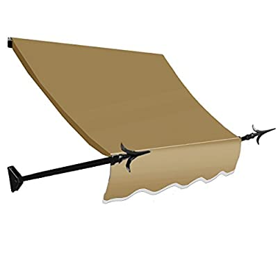Awntech 7-Feet New Orleans Awning, 31-Inch Height by 16-Inch Diameter